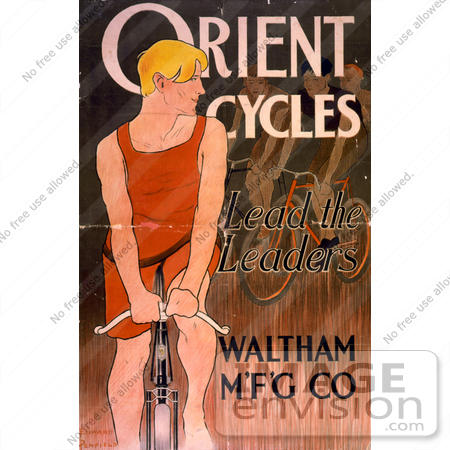 #5452 Orient Cycles Advertisement by JVPD