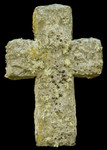 Concrete Christian Cross