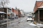 Historic Town of Jacksonville, Oregon in Winter