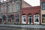 Downtown Jacksonville, Oregon in the Snow
