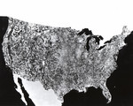 First Photo of U.S. by NASA Satellite 4/26/1974