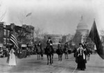 Photo of the Head of Suffrage Parade, Washington, D.C.
