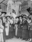 Garment Workers Parading on May Day, New York