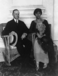 Calvin Coolidge and His Wife