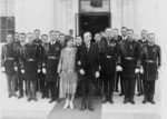 President and Mrs. Coolidge With Military Aides
