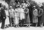 President and Mrs. Coolidge With Berea College Students