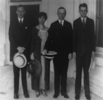 President and Mrs. Coolidge With Sons