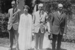 President and Mrs. Coolidge With Their Son John and the President
