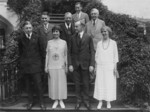 President and Mrs. Coolidge With Their Sons and Friends