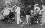 Garden Party for Wounded Men at the White House