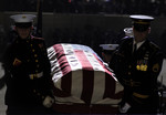 Carrying the Gerald Ford Casket