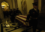 Carrying Gerald Ford Casket