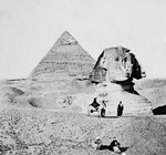 The Great Sphinx and Second Pyramid