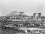 The Parthenon From Southeast