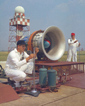 Noise Research Program on Hangar Apron