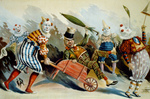 Group of Circus Clowns