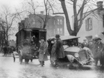 Auto Wreck During Prohibition