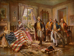 Picture of The Birth of Old Glory, Betsy Ross Flag