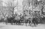 Theodore Roosevelt in a Carriage