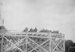 People on a Roller Coaster, Coney Island