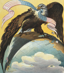 Picture of Bald Eagle on the Globe