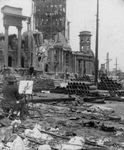 Artist Painting after the San Francisco Earthquake