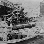 Wrecked Maine Battleship