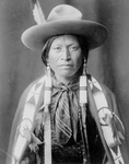 Jicarilla Man in Cowboy Attire