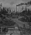 Lumber Camp in New Hampshire