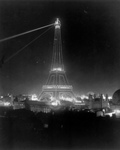 Eiffel at Night, 1900