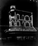 Chess Club Building at Night, New Orleans