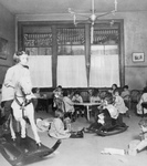Children Playing in a Classroom