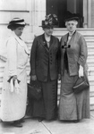 Jane Addams, Julia Lathrop and Mary McDowell