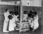 African American Children in a Cooking Class