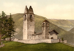 Old Church, Celerina, Schlarigna, Switzerland