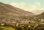 Cityscape of Chur in Switzerland