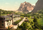 Hotel Eiger With a View of Wetterhorn Mountain
