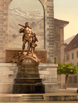William Tell Memorial in Altdorf, Switzerland