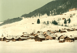 Village of Leysin in Winter