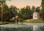 Pavillion and Rock of Marie Antoinette at Petit Trianon