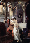 Photo of a Man and Woman Embracing and Kissing Passionately, Romeo and Juliet
