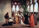 Photo of The Parting of the Two Foscari by Francesco Hayez