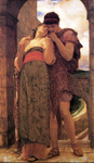 Photo of a Couple Embracing, Wedded by Frederic Lord Leighton