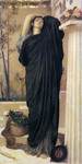 Photo of Electra at the Tomb of Agamemnon by Frederic Lord Leighton
