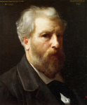 Photo of a Self-Portrait Presented To M. Sage by William-Adolphe Bouguereau