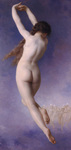 Photo of the Back Side of a Nude Woman, Lost Pleiad by William-Adolphe Bouguereau