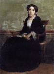 Photo of a Portrait of Genevieve Bouguereau
