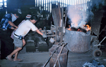 People in a Foundry Factory Who Were Involved in an Industrial Hygiene Sampling Course in Manila, Philippines